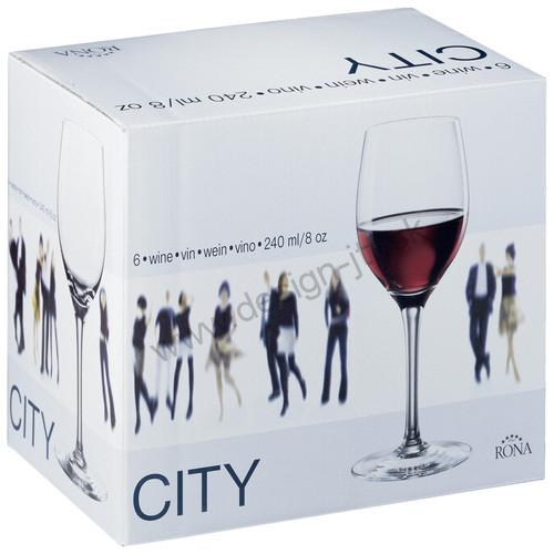 Kalich na víno Bordeaux 500 ml City