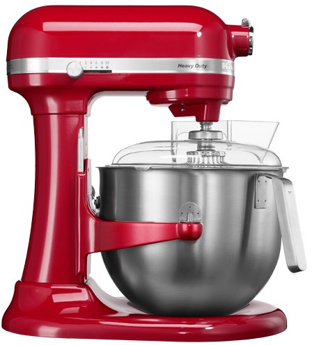 Kitchenaid robot Heavy Duty 6,9 l HeavyDuty 5KSM7591 červený
